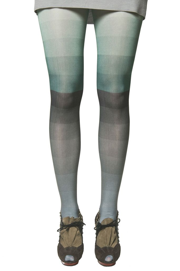 Color block tights Green – Kronkron (now with a working link)