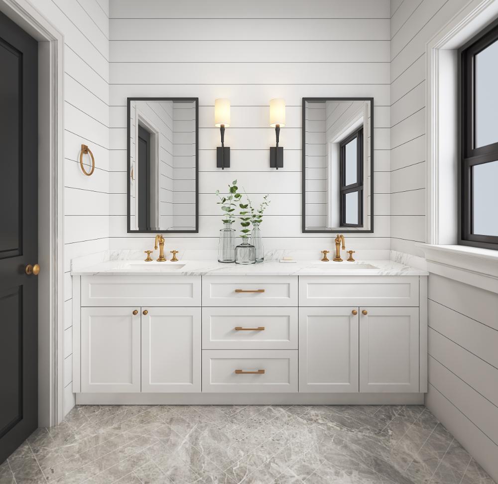 Shaker Style Bathroom Vanity Prodeco, Shaker Style Vanity Bathroom