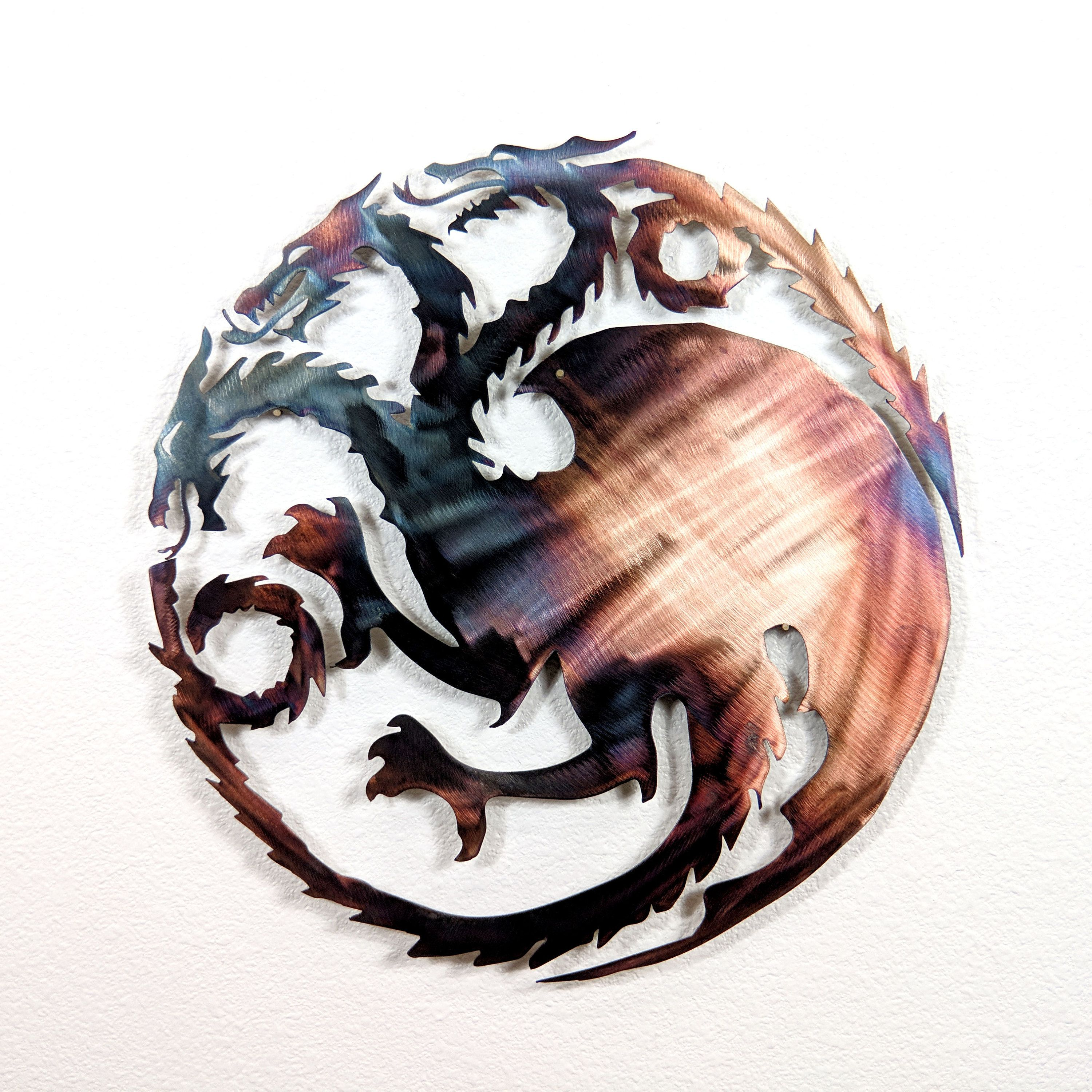 Game of Thrones house Targaryen wall art stencil,Strong,Reusable,Recyclable