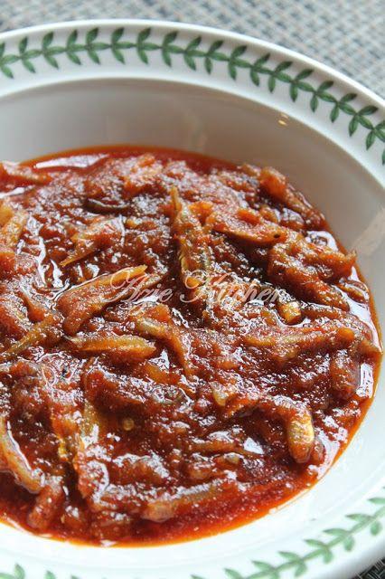 Azie Kitchen Sambal Tumis Ikan Bilis Lagi Resep Makanan Nasi Lemak Resep Masakan Indonesia