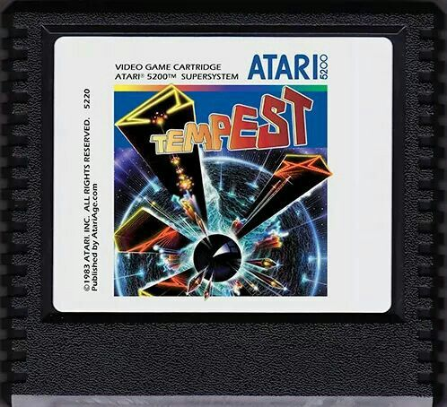 Lust for homebrew games!! Atari 5200 Tempest | Atari 5200