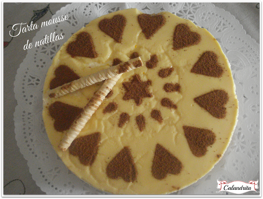 adaptable a SIN GLUTEN Tarta mousse de natillas | Cocina