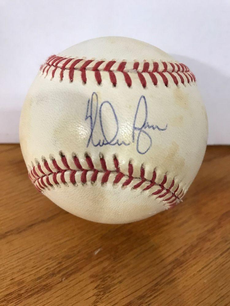 d63d38d0055 MAJOR LEAGUE BASEBALL BLOWOUT: Nolan Ryan Autographed Ball COLLECTABLE  47-201 (eBay Link)