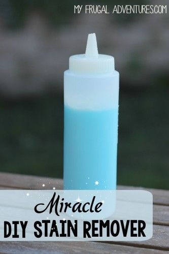 Diy Stain Remover Removes Almost Any Stain Diy Cleaning