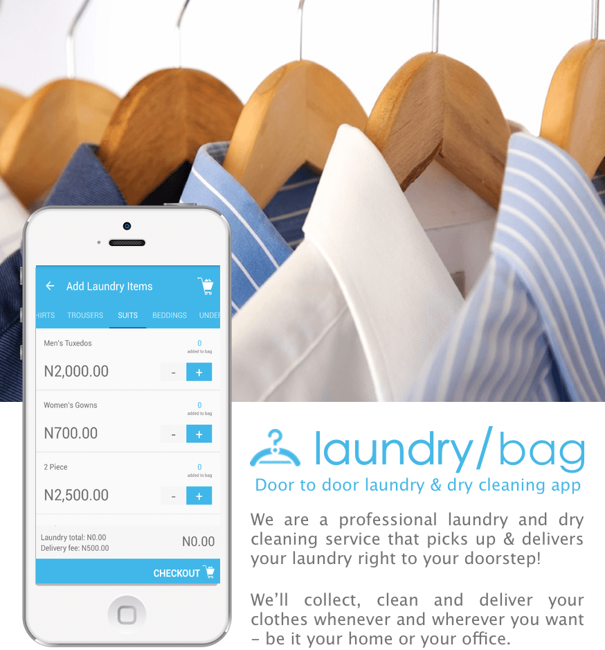 Lagosians Here Comes The Lagos 1 Laundry And Dry Cleaning App
