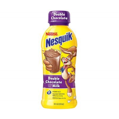 Nesquik is the best. I can drink it every day.