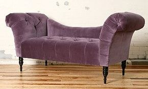 Fainting Sofa Purple High End Fabric Sectional Sofas Antoinette Aubergine From Urban Outfitters Noele Neidig