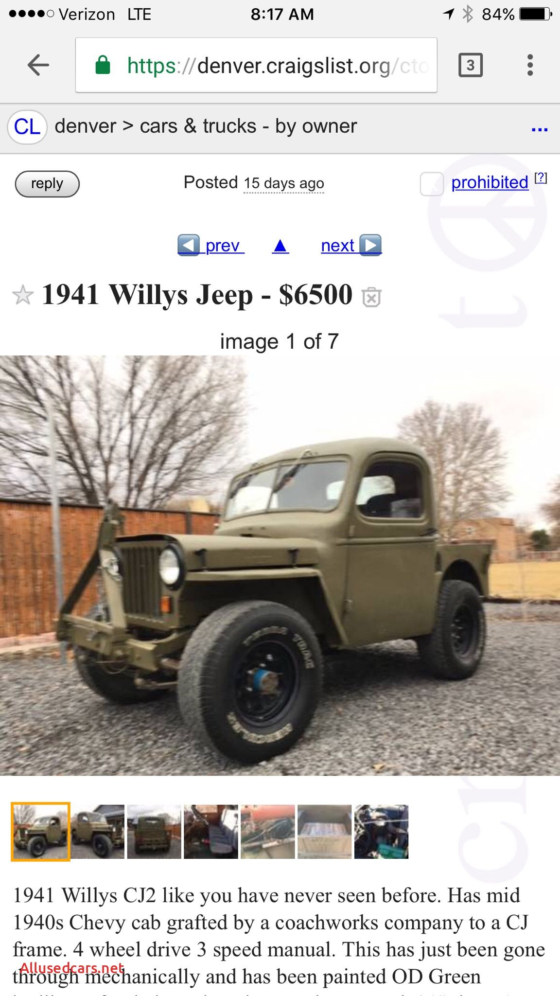 Craigslist Cars And Trucks By Owner Awesome 81 J10 Value Full Size Jeep Network Craigslist Cars Cars Trucks Trucks