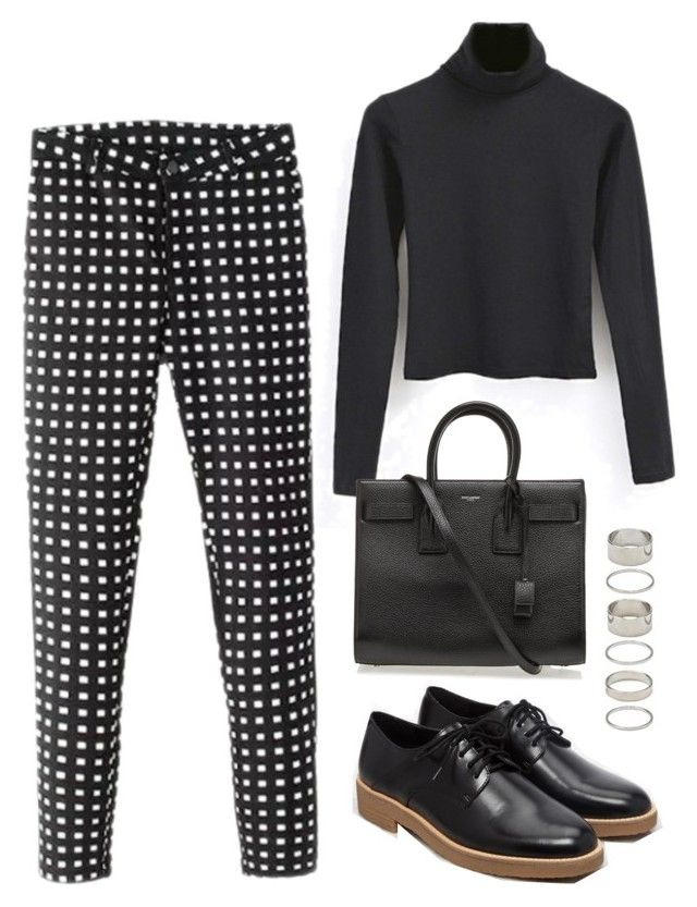 """""""Untitled #1450"""" by susannem ❤ liked on Polyvore featuring Forever 21 and Yves Saint Laurent"""