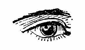 Illustrazioni Vintage in Bianco e Nero, Occhi - Vintage Illustrations in Black and White, Eyes