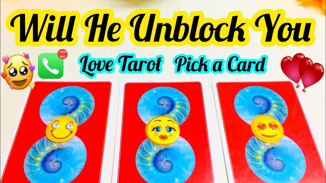 Pick a card will he unblock you kya vo vapas ayenge