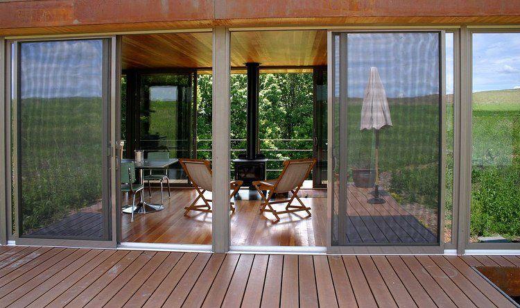 Baie vitrée coulissante -avantages et inconvénients des matériaux