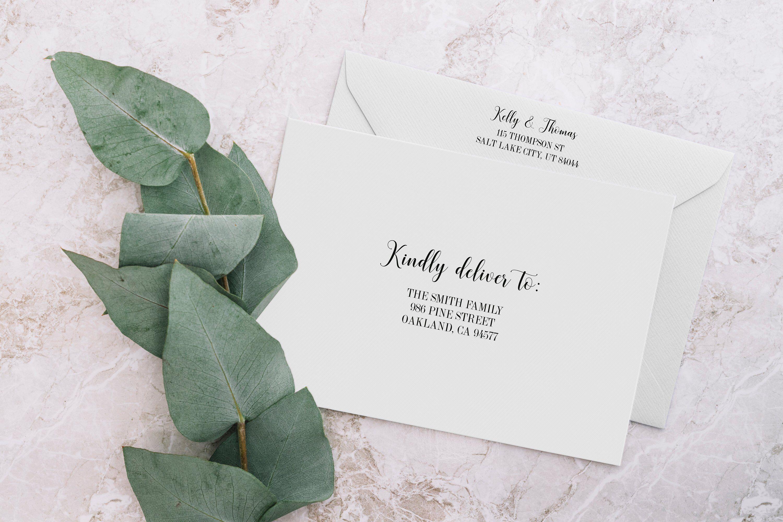 Printable Envelope Address Template Editable Wedding Etsy Envelope Addressing Template Wedding Address Labels Addressing Envelopes Wedding