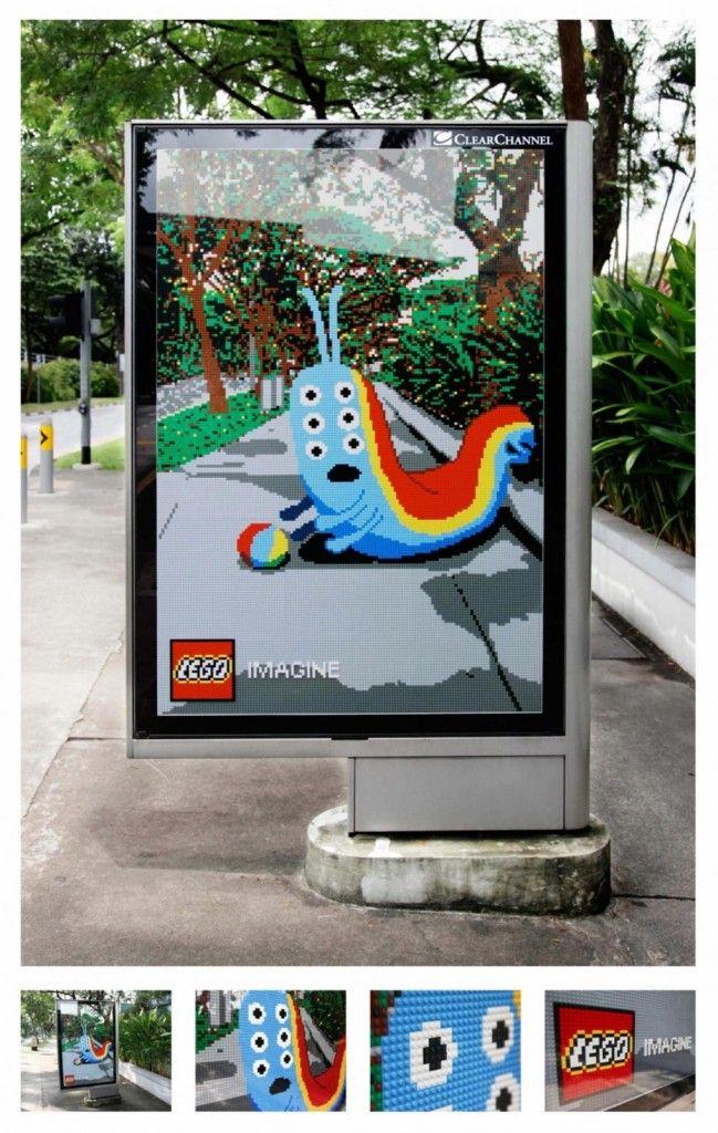 LEGO #advertising