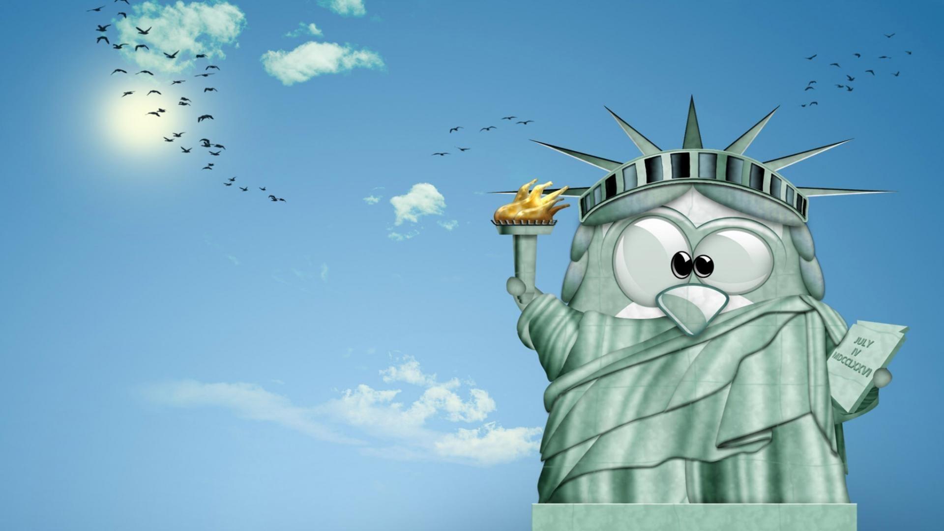 funny penguin liberty wallpaper hd | cartoon | pinterest | cartoon