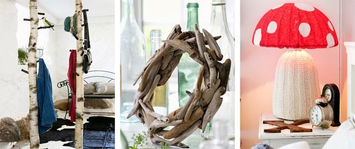 Natural home decorations
