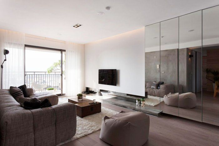 Elegant Japanese Minimalist Apartment Interior Design By Fertility