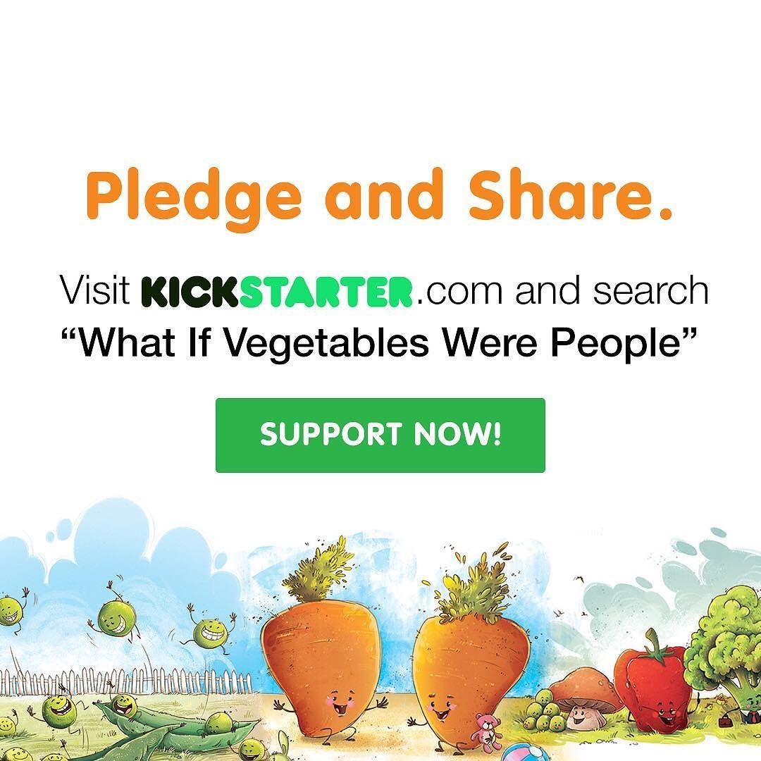 It's bean almost a year in the making and NOW it's go time! Lettuce celebrate!  Please check out the link in my bio...and if you think it's time to reinvent food education so that kids worldwide can learn to love veggies please share and pre-order your copy now of #whatifvegetableswerepeople (click the link!) Written by dietitian and mum and her four sweet peas! This is a quirky book to help kids and families have a positive experience with healthy food.