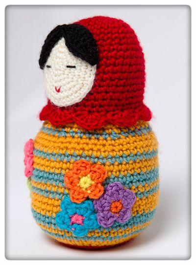 matriochka au crochet crochet 17 mod les pour. Black Bedroom Furniture Sets. Home Design Ideas