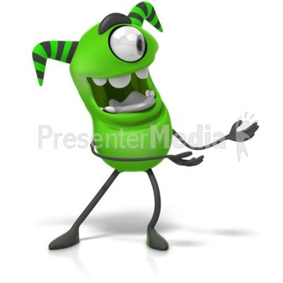 this clip art image shows a cute monster character gesturing to the rh pinterest com