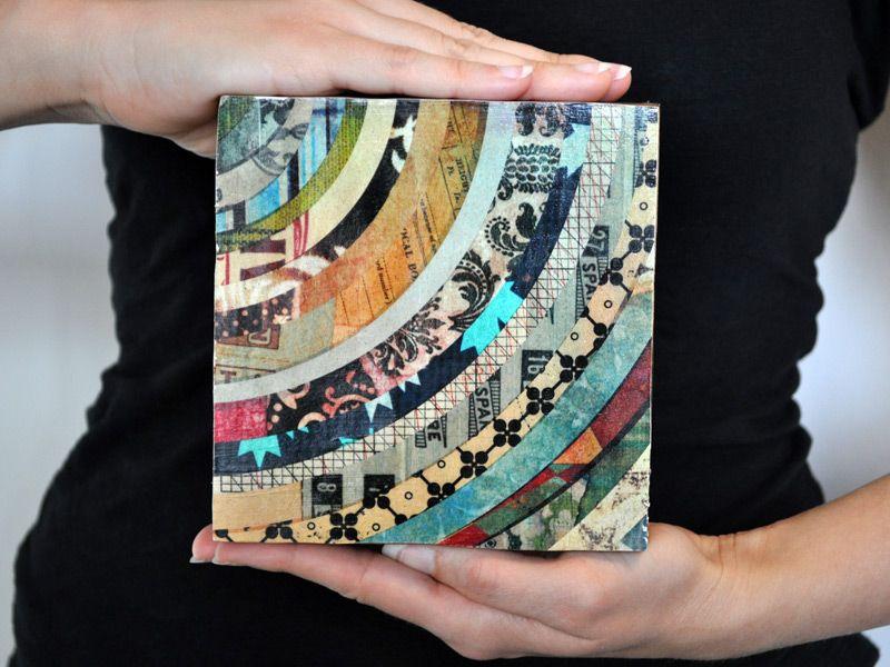 Идеи для открытки из журнала