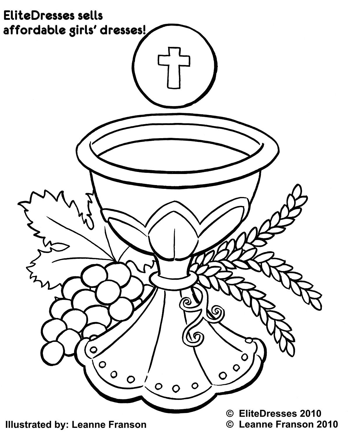 communion coloring pages First Holy Communion Coloring Pages | Printable Coloring Pages  communion coloring pages