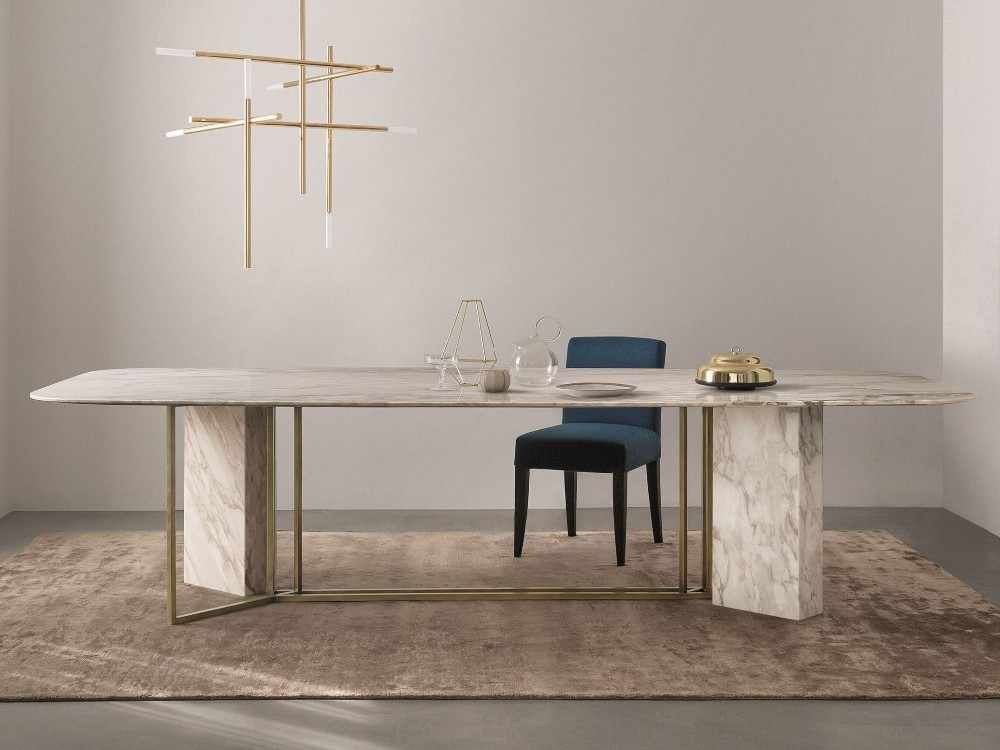Source Modern Luxury 12 Seater Stainless Steel Marble Top Dining Table Set On M Alibaba Com In 2020 Marble Tables Design Marble Top Dining Table Luxury Dining Tables