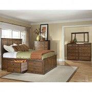 Oak Park 6 Drawer Storage Bedroom Set