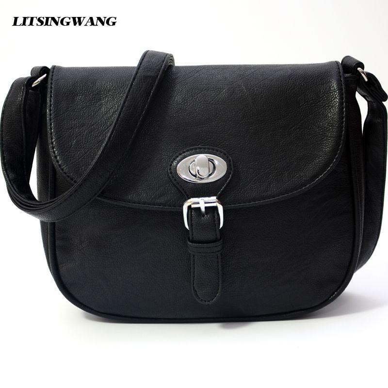 834c69dc1b LITSINGWANG crossbody bags bolsas femininas women messenger bags ladies  shoulder bag little pu leather handbags 2017High