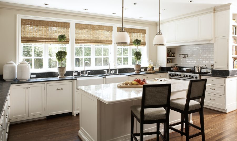 4 Granite Backsplash With Tile Above Kitchens Complete With 4