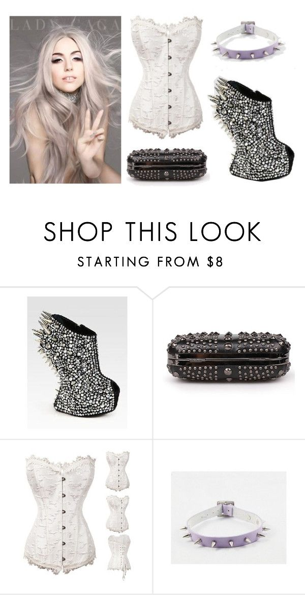 """Lady Gaga"" by rebelsmarket-0 on Polyvore"