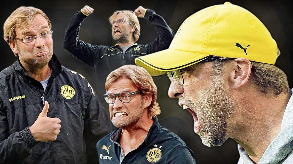 2413 Tage Jurgen Klopp Seine Besten Spruche Und Gesichter Bvb Trainer Juergen Klopp Sport Fussball