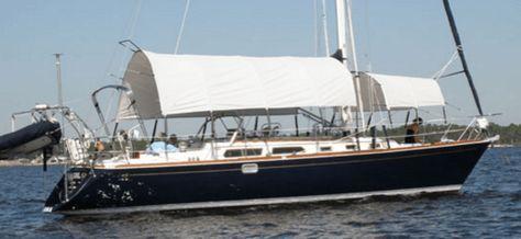 Diy Awning Liveaboard Sailboat Liveaboard Boats Diy Awning