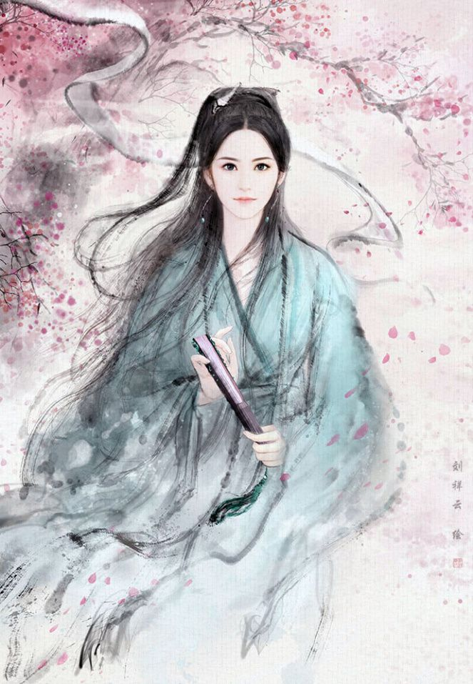Eternal Love《三生三世十里桃花》Illustrations + Chibis Painting of
