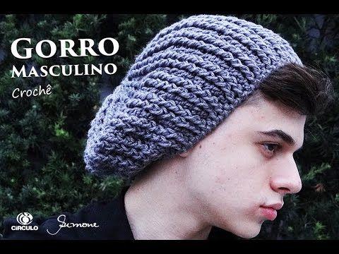 4876e955c8ee1 Gorro de Crochê Masculino Adulto