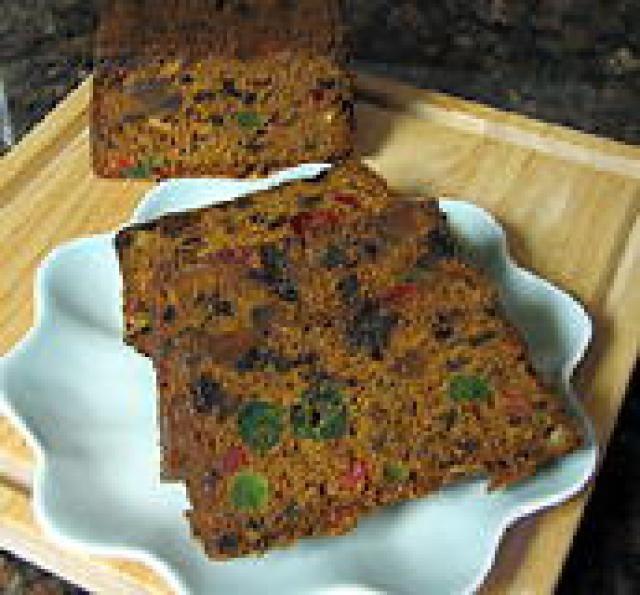 Christmas Fruit Cake Recipe With Brandy.Spiced Fruitcake With Brandy