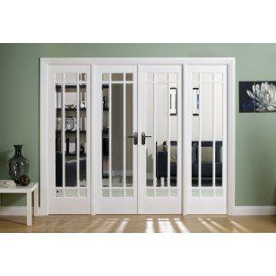 Manhattan style french door - sitting room to atrium | House ...