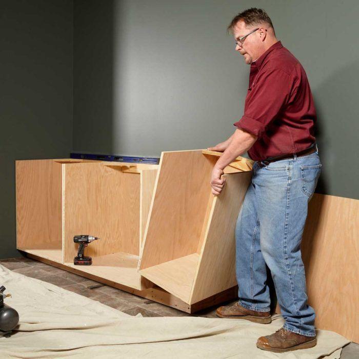 Face Frame Cabinet Building Tips | Face frame cabinets ...