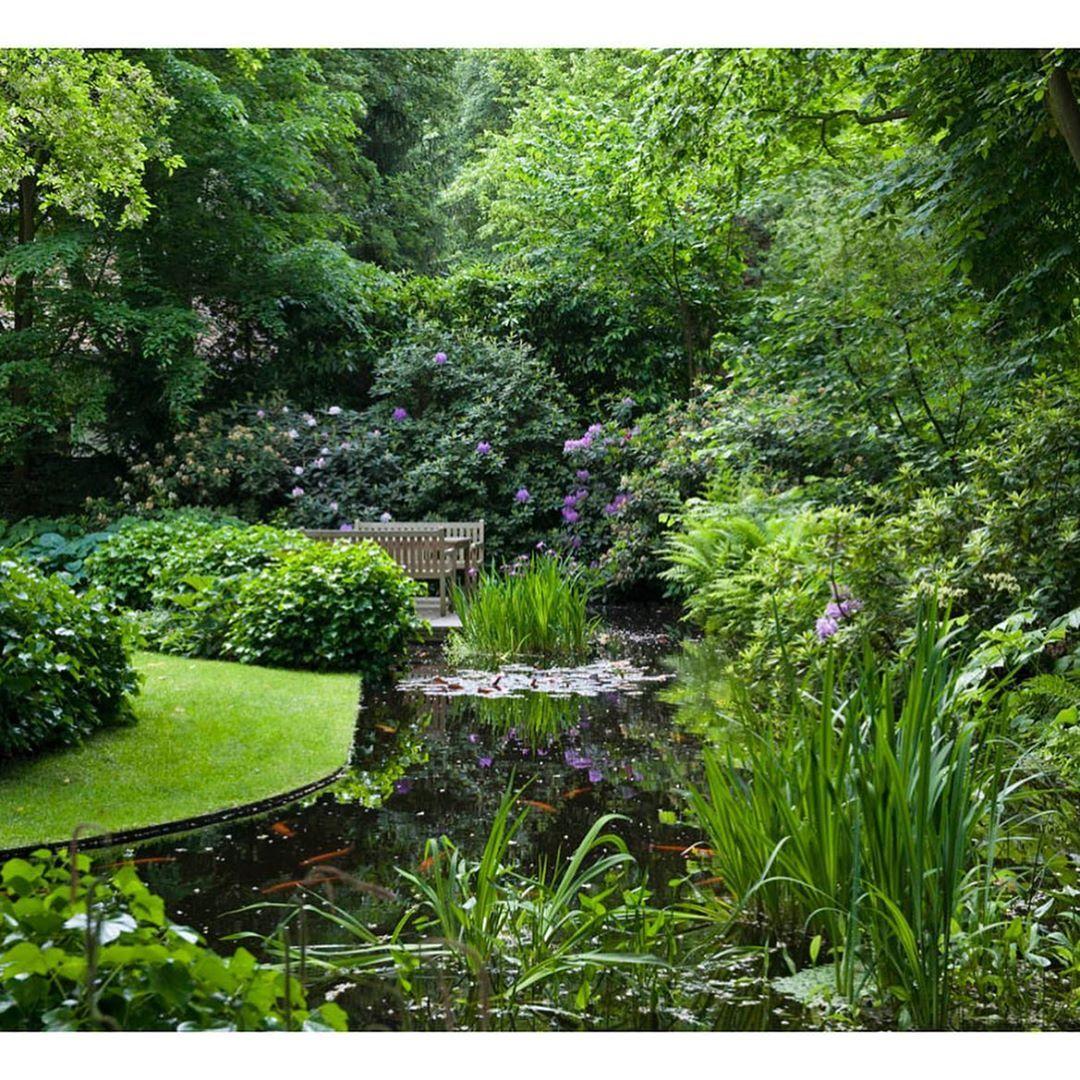 Gartenteich Mit Waldcharakter Landschaftsgaertnerausleidenschaft Jansen Arens Gartenbau Galabau Landscapearchitecture T Gartengestaltung Garten Gartenbau