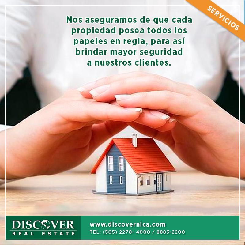 ¡La seguridad de nuestros clientes es importante para nosotros!  llama al 22704000 #RealEstate #Nicaragua