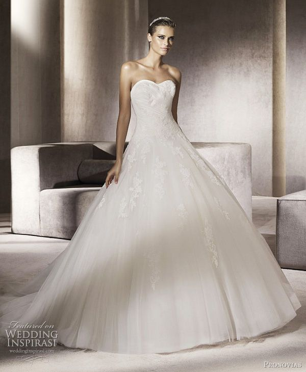 Pronovias Wedding Dresses 2012