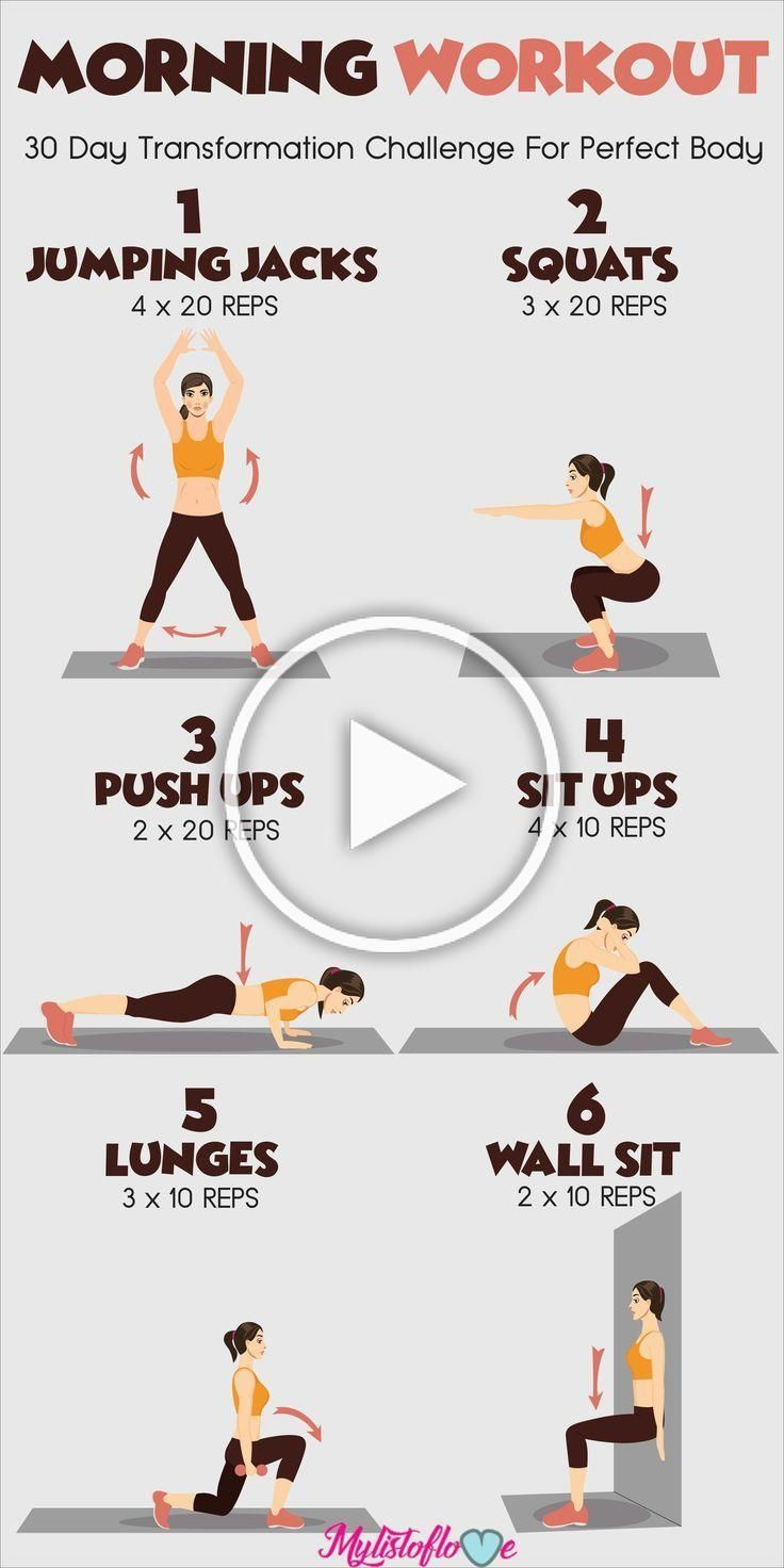 Morning Workout For A Perfect Body | #1stInHealth #WomensWorkout #FitnessWorkout #Workout #Fitness #...