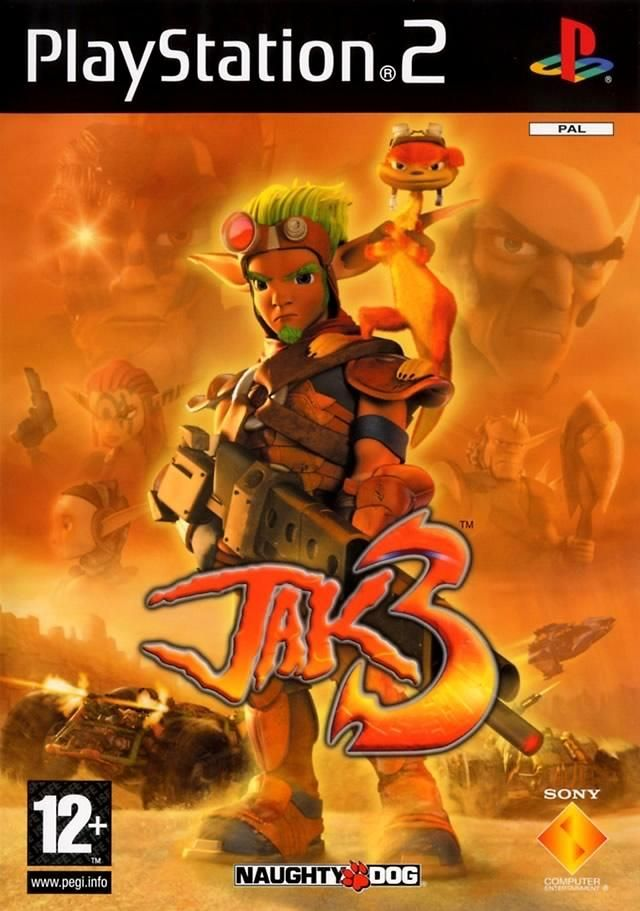 Jak 3 alternate cover | Jak and Daxter / Ratchet and Clank