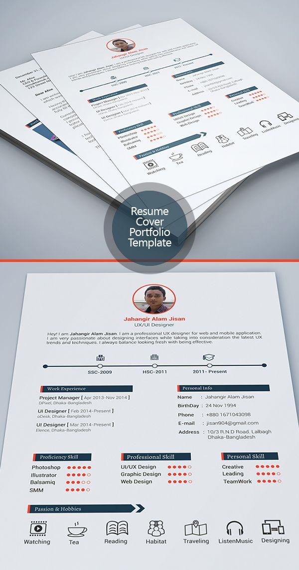 Free Modern Resume Templates \ PSD Mockups Freebies Graphic - free graphic design resume templates