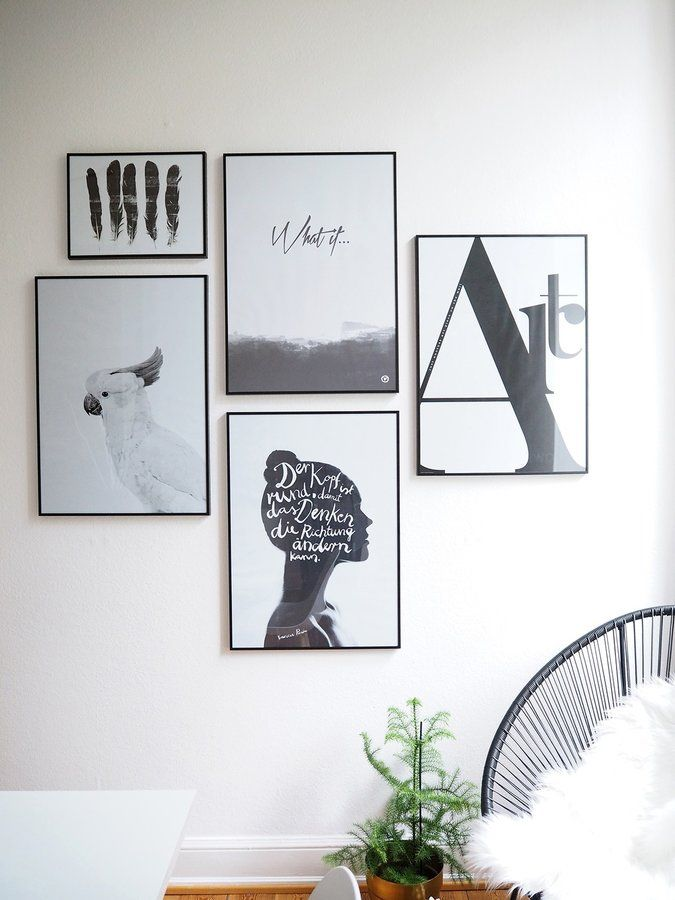Verliebt In Eine Bilderwand Retro Home Decor, Diy Home Decor, Minimalist  Scandinavian, Picture