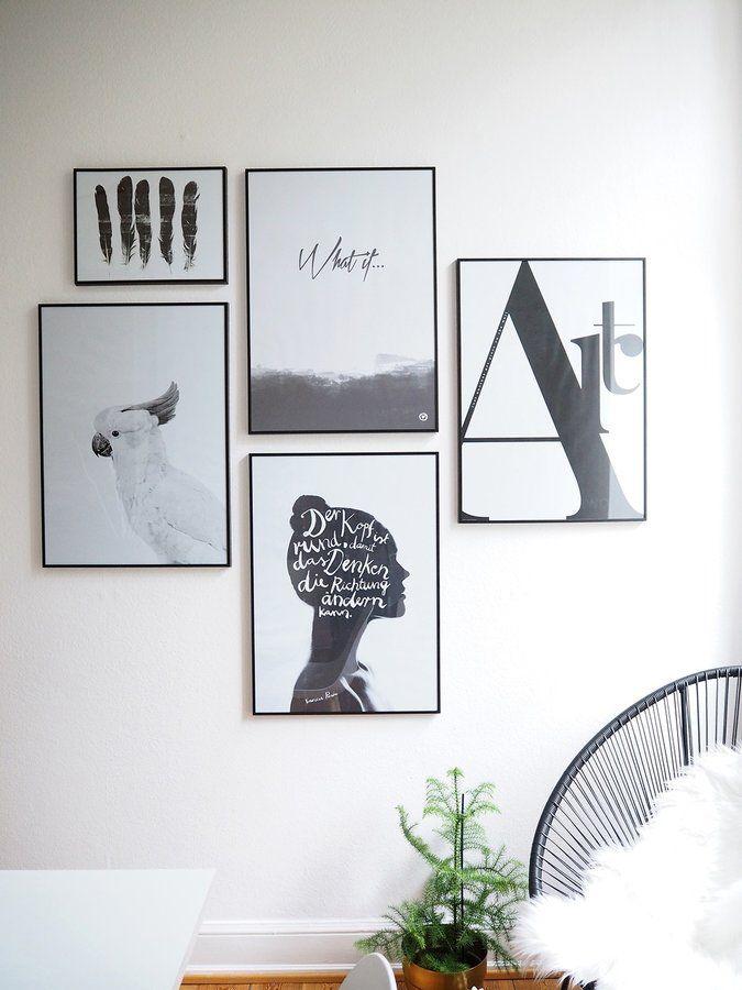 verliebt in eine bilderwand bilderwand pinterest. Black Bedroom Furniture Sets. Home Design Ideas