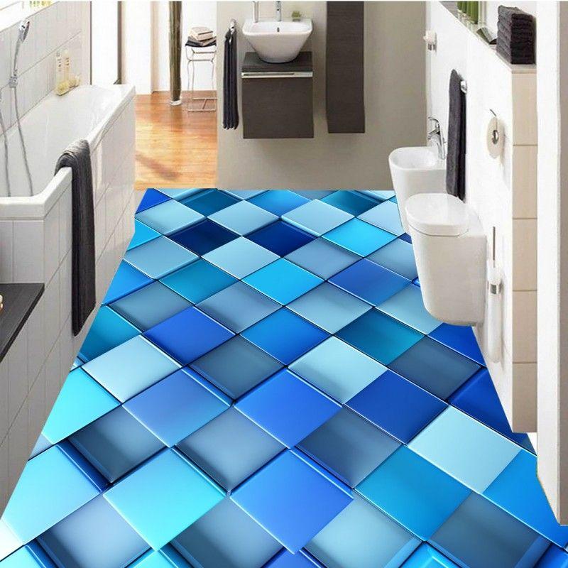 Free Shipping selfadhesive corridor bathroom flooring