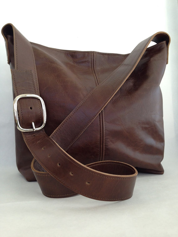 Leather Messenger Bag Leather Tote Leather Bag With Top