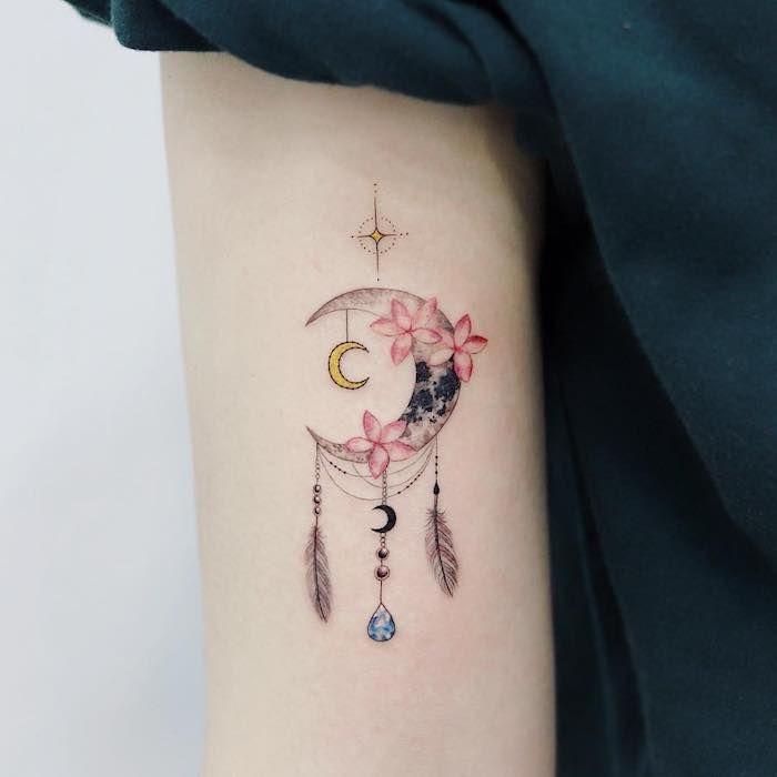 Photo of ▷ 1001 + Ideen und Bilder zum Thema Traumfänger Tattoo!