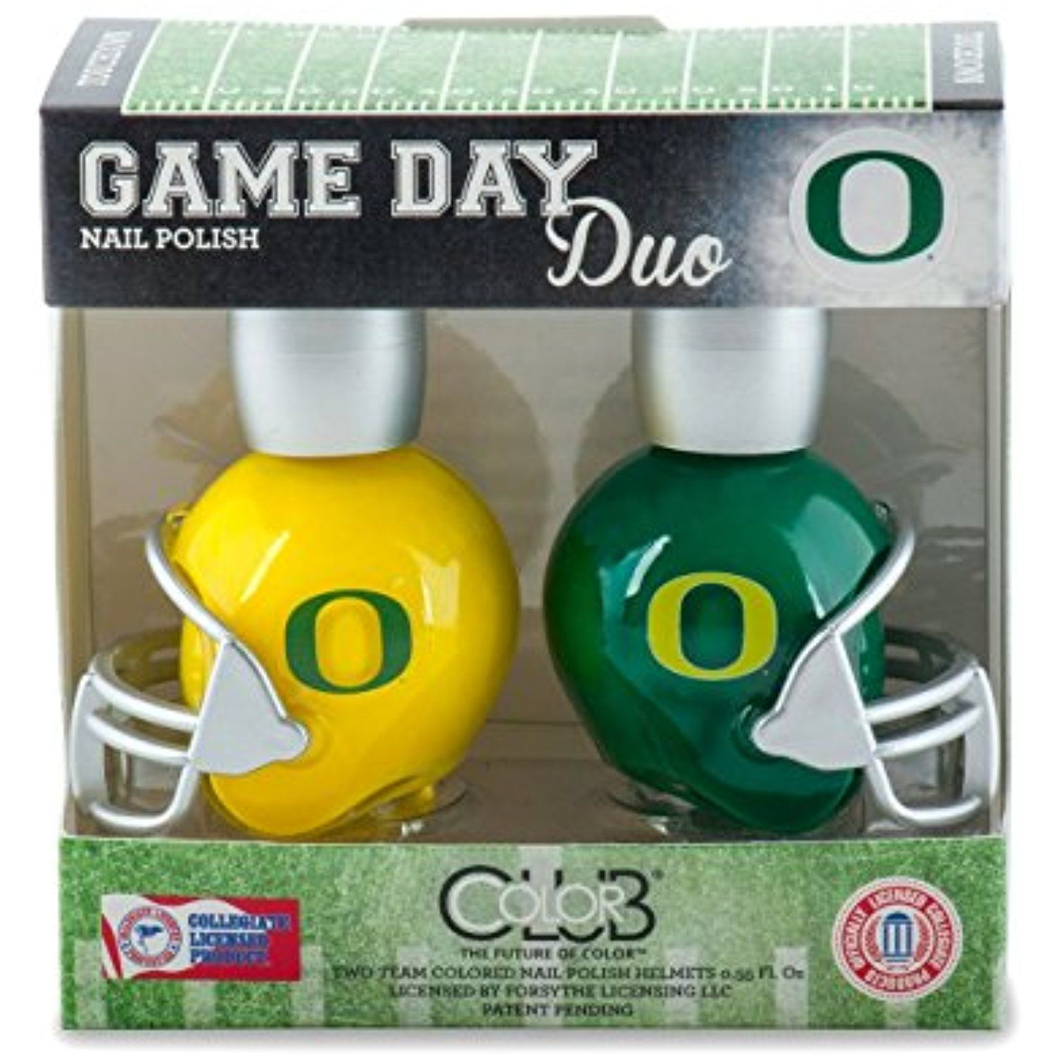 Oregon Ducks Game Day Duo Nail Polish ** Click on the image for ...